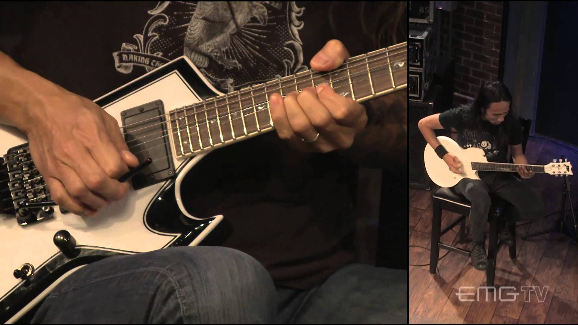 Rob Cavestany and Ted Aguilar Perform 'Left for Dead' and 'Son of the Morning' on EMG TV