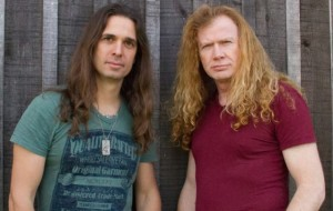 Kiko Loureiro and Dave Mustaine