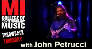 John Petrucci at Musicians Institute – 8/30/1998 – TBT